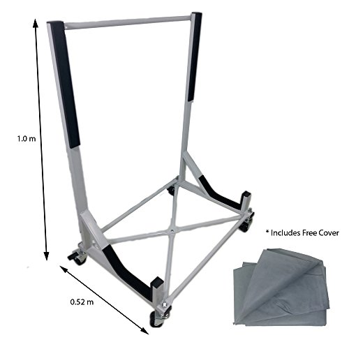 Inka Corp. Convertible Hardtop Storage Steel Trolley Stand For Austin...