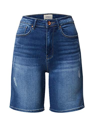 ONLY dames Jeansshorts ONLPAOLA HW SHORTS BB AZG570