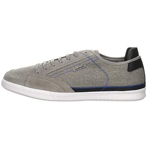 Geox U WALEE A, Zapatillas Hombre, Gris (Grey C1006), 39 EU