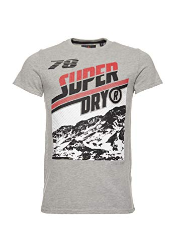 Superdry Hombre Camiseta Downhill Photographic