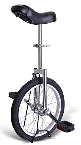 Best Review Of Kobe Unicycle with Aluminum Wheel Rim 20 Silver Chrome