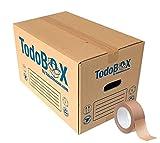 Pack 10 Cajas de Cartón para Mudanzas, Cajas de Cartón para Trasteros, Envíos, Almacenaje, de alta calidad (Talla L 50x30x30 cm + 1 PrecintoECO)