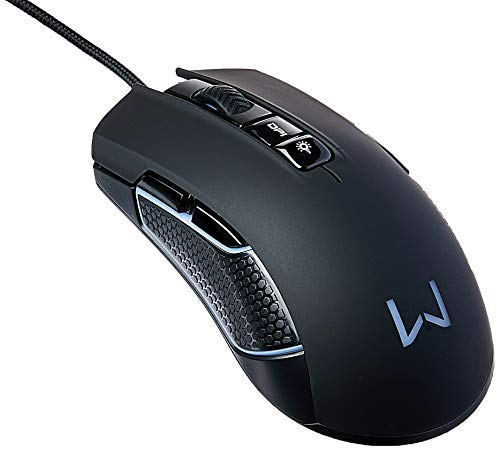 Mouse Gamer RGB Perseus USB 2.0 Cabo 1.8M Preto Warrior - Mo275, Warrior, Mouses