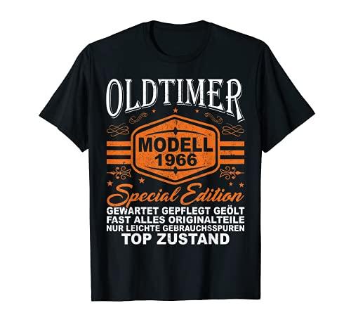 Herren Oldtimer Baujahr 1966 55. Geburtstag 55 Jahre Geschenk T-Shirt