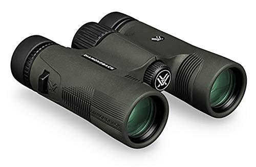 Vortex Diamondback Binocular Negro, Verde - Binoculares (8X, 2,8 cm, Negro, Verde, 3,6 mm, 101,19 m, 1,8 cm)