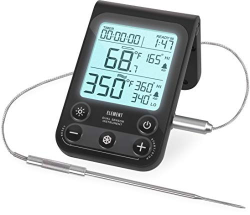 Lavatools OVT02 Element Digital Oven Thermometer for Oven, Grill, and...