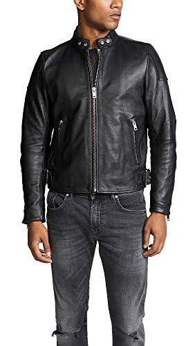 Diesel L-rushis Jacket Chaqueta, Negro (Black 900), Large para Hombre