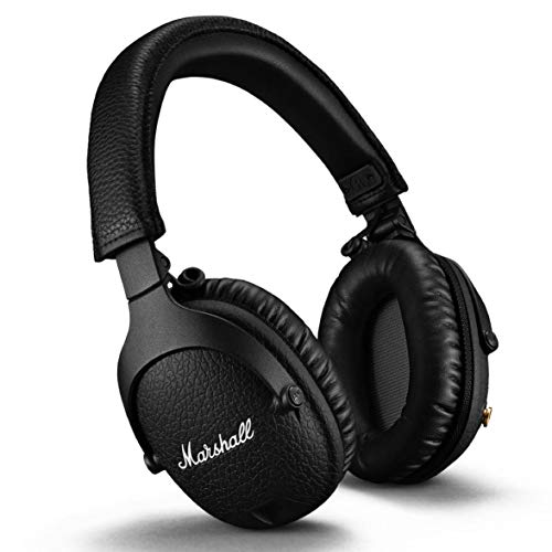 Marshall Monitor II Active Noise Canceling Over-Ear Bluetooth Headphone, Black