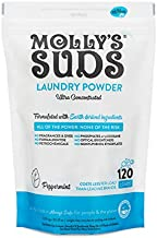 Molly's Suds Original Laundry Detergent Powder  Natural Laundry Detergent for Sensitive Skin   Earth-Derived Ingredients, Stain Fighting   120 load