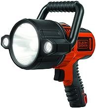 BLACK+DECKER SLV2B Rechargeable 750 Lumen Lithium Ion 10W LED Spotlight Flashlight