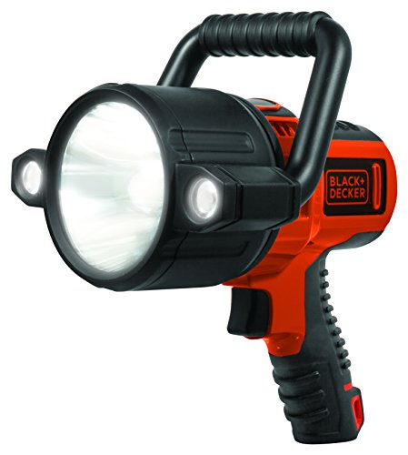 BLACK+DECKER SLV2B Rechargeable 750 Lumen Lithium Ion 10W LED Spotlight Flashlight
