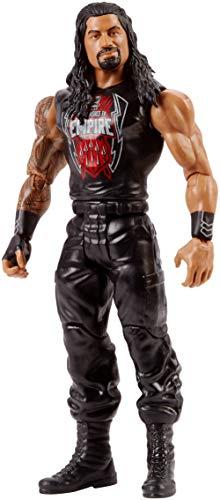 WWE Figura básica de acción, luchador Roman Reigns (Mattel FMD53)