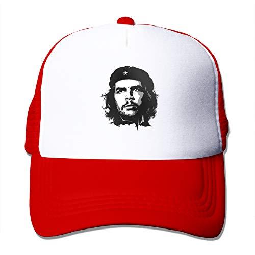 Che Guevara - Gorra de béisbol ajustable, color negro Rojo...