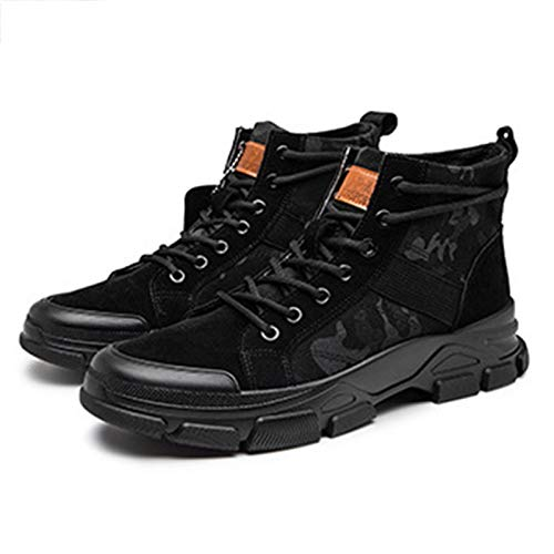 shoe Camouflage-Kampfstiefel für Herrenmode, militärische Taktische Spezialstiefel, Wüsten-Trainingsstiefel für den Außenbereich, Klassische Trend-Stiefeletten für Knöchelwerkzeuge