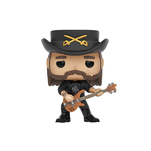 KYYT Pop! Rocks: Guns N' Roses-Lemmy Kilmister Rose Vinyl Bobblehead 3.9'' No Box for Funko