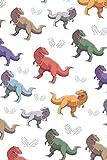 Notizbuch: mit Dino Motiv für alle Dinosaurier Fans | Punktkariert ca. A5 110 Seiten | Skizzen, Zeichnungen, Notizen