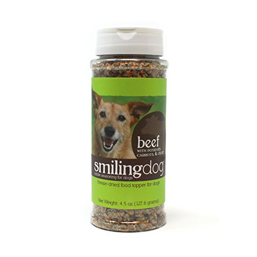 Herbsmith Kibble Seasoning – Freeze Dried Beef – Dog Food Topper for Picky...