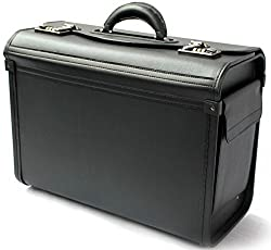 Pilot case in carry-on size - business suitcase