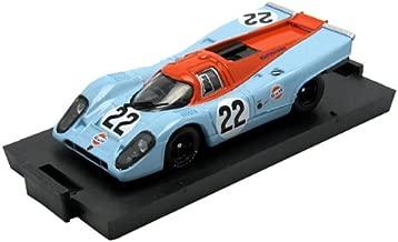 Brumm–R495–Vehicle Miniature–Porsche 917K Gulf Le Mans 1970–Model Scale 1/43Scale