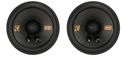 KICKER 47KSC2704 KSC Series Midrange 2 3/4 Inch 15 to 50 Watts RMS Power Factory Replacement Coaxial...