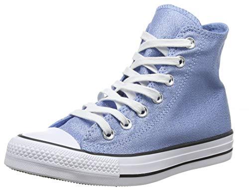 Converse Damen Chuck Taylor All Star High Fitnessschuhe, Mehrfarbig (Light Blue/White/Black 472), 38 EU