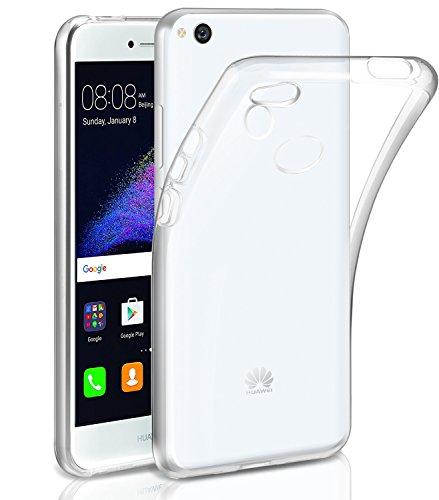 AROYI Funda Huawei P8 Lite 2017 Gel Transparente Silicona Fundas para P8 Lite 2017 Carcasa TPU [Ultra Fina] [Protección a Bordes y Cámara] Enjaca Cover para Huawei P8 Lite 2017 Silicona Funda Case