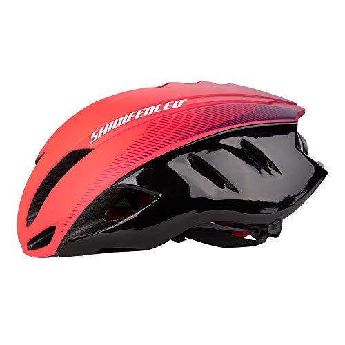 Jianan Racing Casque aérodynamique pour la deuxième génération vélo de Route,Pink Gradient