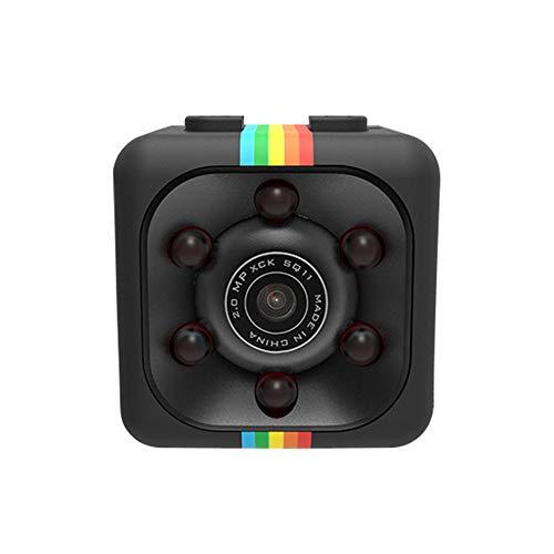 Chnrong Cámara oculta inalámbrica, mini cámaras ocultas 1080p, cámara de seguridad oculta inalámbrica más pequeña con visión nocturna y detección de movimiento, no necesita WiFi