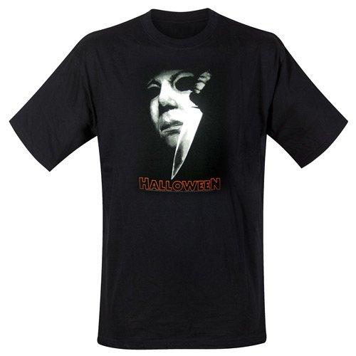 Halloween T-shirt Michael Meyers Knife maat M (medium) horror movie artwork