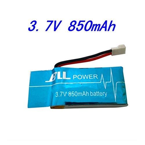 Fytoo 1PCS 3.7V 850mAh LiPO Batteria per SYMA X5SC X5S X5SW X5SC-1 WLtoys V931 Quadricotteri Pezzi di Ricambio Droni
