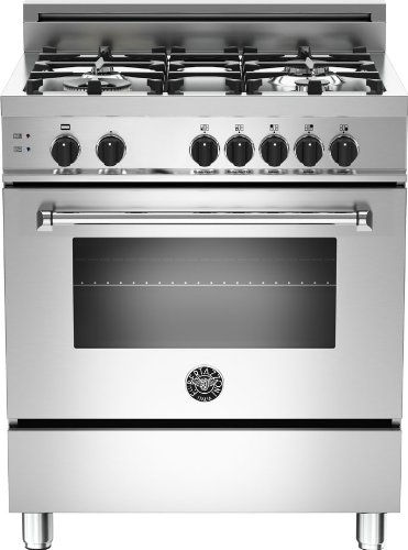 MAS304GASXE | Bertazzoni Master 30 Gas Range, 4 Burners, Natural Gas -...