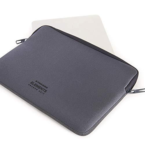 Tucano Second Skin New Elements Neopren Hülle für MacBook 30,5 cm (12 Zoll) grau