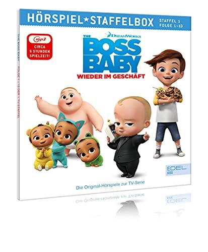 Boss Baby - Wieder im Geschäft - mp3-Staffelbox 1 - Das Original-Hörspiel zur TV-Serie (Folgen 1 - 13)