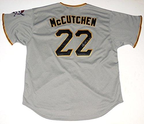 Andrew McCutchen Autographed Jersey (Pirates)