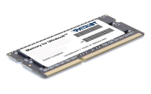 Patriot PSD34G1600L81S - Memoria RAM de 4 GB (DDR3 4GB PC3-12800 1600MHz 1.35V CL11 SODIMM)