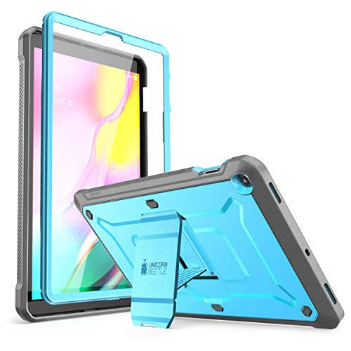 SUPCASE Unicorn Beetle Pro Series Case for Galaxy Tab S5e, Full-Body Rugged Protective Case with Built-in Screen Protector for Samsung Galaxy Tab S5e 10.5'2019 Model (SM-T720/T725) (Sky Blue)