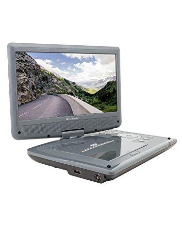Soundmaster PDB1960 tragbarer DVD-Player, 10.1 Zoll, mit DVB-T2 Fernsehempfang