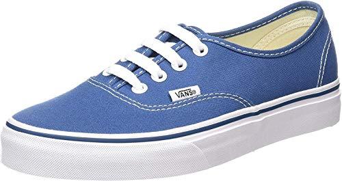 Vans Authentic, Zapatillas de Tela Unisex, Azul (Blue/Marshmallo), 36.5 EU