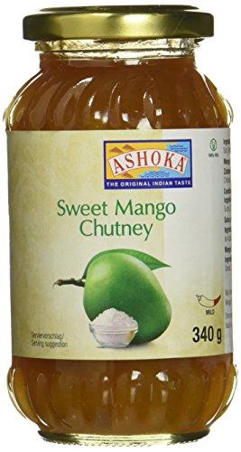 Ashoka Mango Chutney, original, 3er Pack (3 x 340 g)