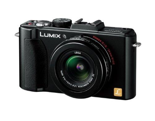 パナソニック デジタルカメラ ルミックス ブラック DMC-LX5-K 1010万画素 光学3.8倍ズーム 広角24mm 3.0型液晶 F2.0バリオ・ズミクロンレンズの詳細を見る