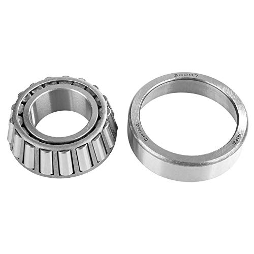 Single Row Tapered Roller Bearing Cone Set, Bearing Accessories for Machine 32207 35mm Bore 72mm OD 24.25mm Thickness.