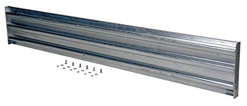 Vestil GR-F3R-BO-7-HDG 7 Ft 3 Rib Bolt On Guard Rail Galv