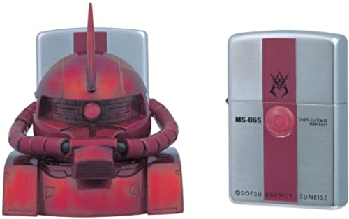 ZIPPO Mobile Suit Gundam Zippo Standmontage  Char