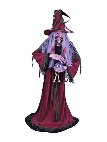 Halloween Prop Life Size Animated Enchantress