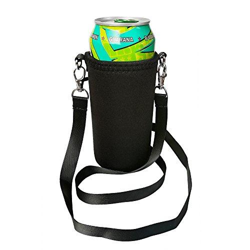 BeerHolder Eff Em Concept Dosenhalter für Den Hals, Dosenhalterung inkl. Halstrageband, Glashalter, Flaschenhalter (Lanyard) (1 Stück 0,5l)