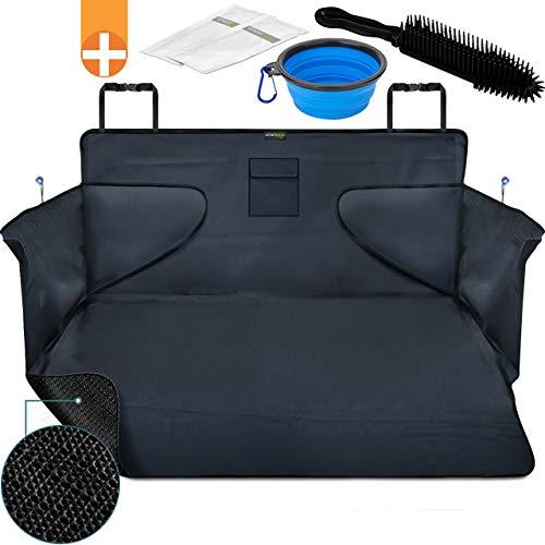 smartpeas Housse de Protection de Coffre pour Chiens – Tapis de Protection Universel – Matériau antidérapant – 185 * 105 * 36 cm