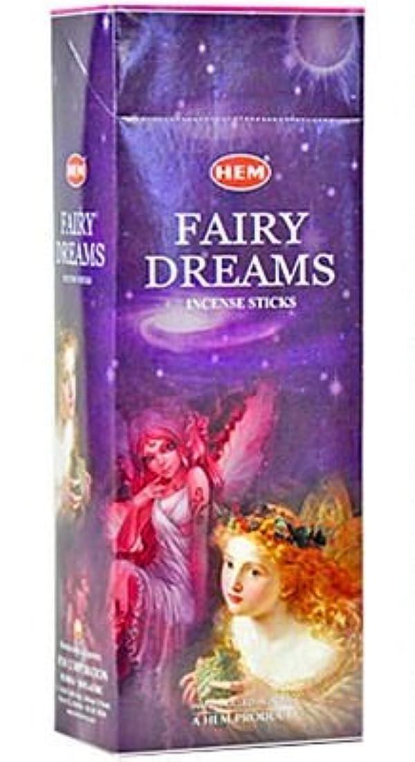 お祝い偽物カウンタHEM(ヘム)社 フェアリードリームス香 スティック FAIRY DREANS 6箱セット