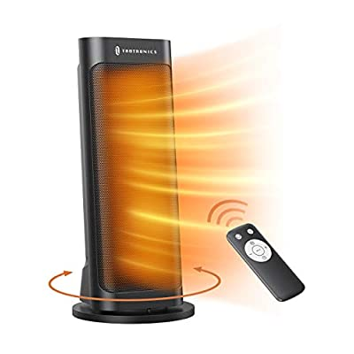 TaoTronics PTC 1500W Fast Quiet Heating Ceramic Tower Heater