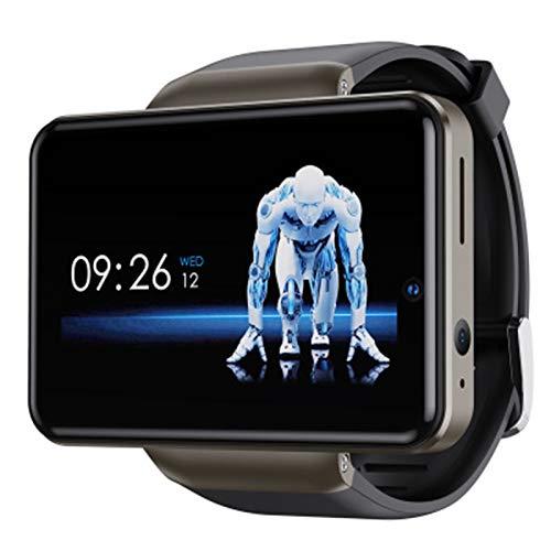 DM101 4G Smart Watch 2.4G + 5G WiFi BT SmartWatch 2.41 Pulgadas Pantalla táctil Android 7.1 1GB + 16GB Cámara Dual 5MP + 2MP SmartWatch,A,1+16G