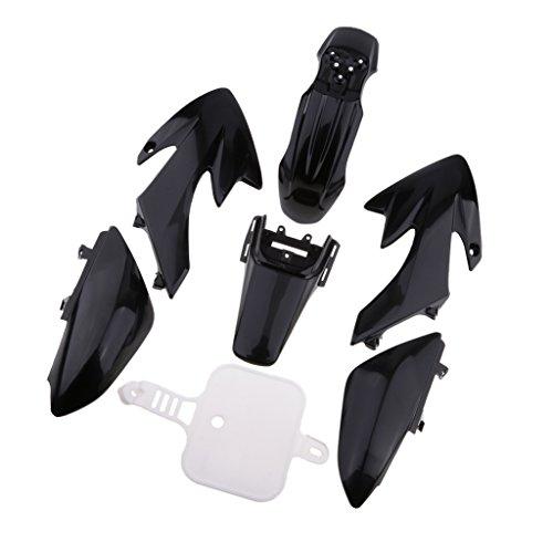 Homyl Kit de Carenado Plástico Reemplazo Piezas para Moto Pit Bike de Negro